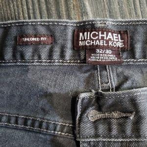 Michael Kors gray jeans for men